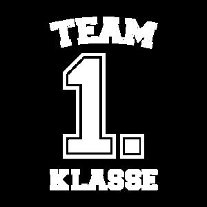 Team 1. Klasse Einschulung Schulkind