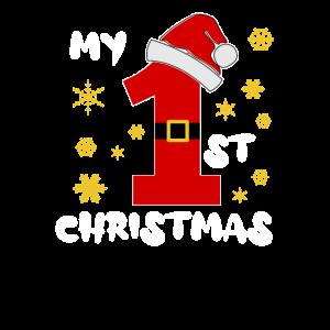 Weihnachtsmannmütze Erstes Weihnachten