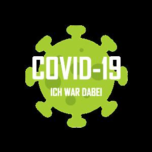 COVID-19 ICH WAR DABEI weiss
