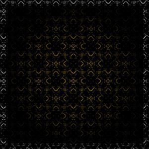 Dark golden Ornament with Border