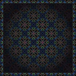 Orientalische Kugel-Illusion
