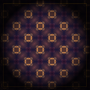 Muster Kunst in Rahmen