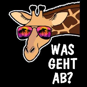 Coole Giraffe Lustiges Tier Geschenk Tierpfleger