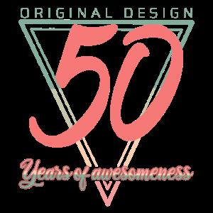 50 Jahre 50. Geburtstag