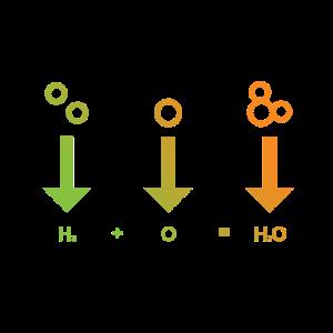 Molekül Chemie Wissenschaft T-Shirt
