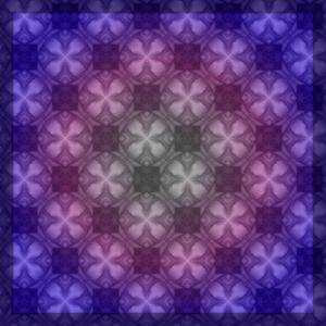 Ambiance violett runde Kugelkreuze