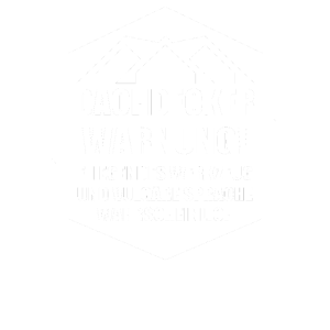 Dachdecker WARNUNG Handwerk Baustelle