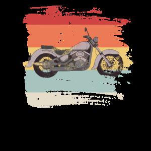 Retro Motorrad Geschenk für Motorradfahrer