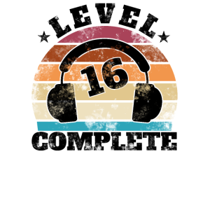 16 Geburtstag 16 Jahre Sechzehn Geschenk Gamer