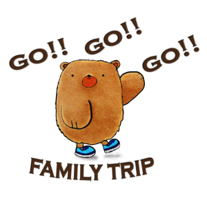Familienausflug, alle reisen