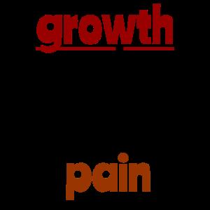 Wachstum kommt nur durch Schmerz