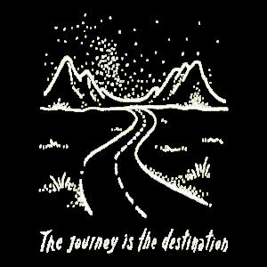 Der Weg ist das Ziel Roadtrip Reisen Urlaub Campen