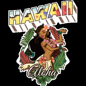 Hawaii Design Summer Time Aloha