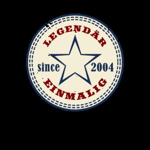 16 Jahre Geburtstag LEGENDÄR EINMALIG seit 2004