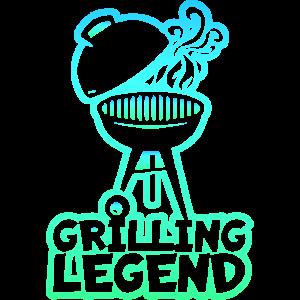 BBQ Grillen Legende Meister
