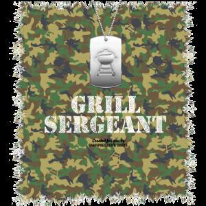 Grill Design Grill Sergeant Grillen T-Shirt