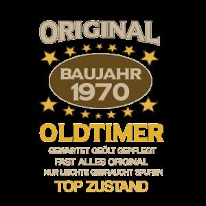 Geburtstag, Original Old Timer, Baujahr 1970