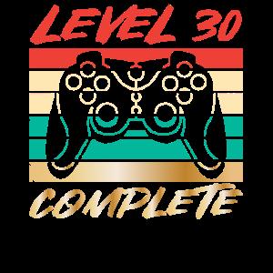30. Geburtstag Level 30 Complete
