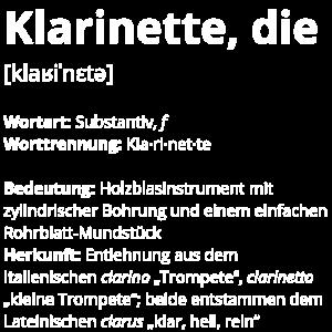 Klarinette, die