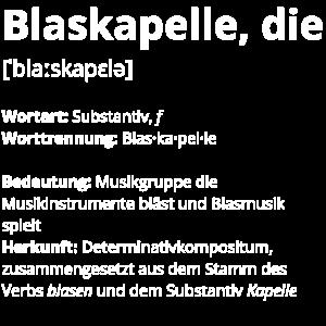 Blaskapelle, die