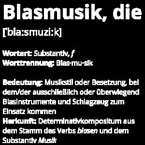 Blasmusik, die
