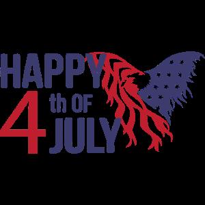 Frohen 4 Juli Adler