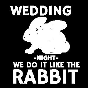 Hochzeitsnacht Wir treiben es Kaninchen Geschenk