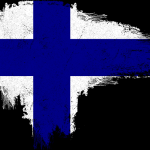 Gesichtsmaske Flagge Finnland