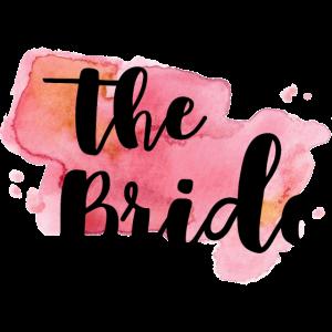 THE BRIDE - AQUARELL PAINT 1