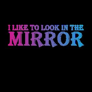 Spiegelbild - selbstverliebt