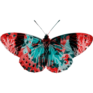 Grunge Schmetterling