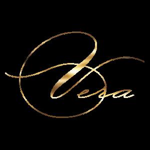Vera gold Lettering edel Vorname Name