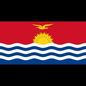 Flagge von Kiribati.