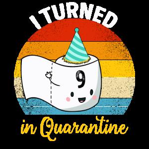 Ich habe mich in Quarantäne gestellt