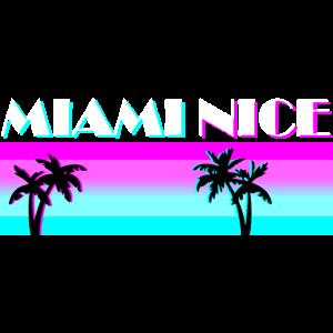 Miami Nice Florida US Amerika Urlaub Geschenkidee