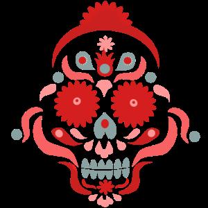 Totenkopf Hippie