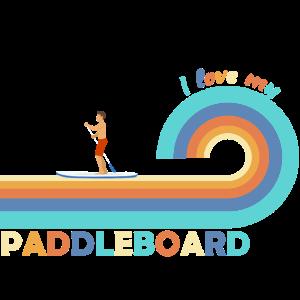 Sup paddel board standup paddle board retro paddel