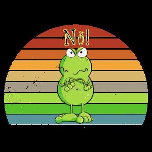 Nö Frosch - Nein - Nö - Einfach Nö