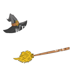 Witches Have More Fun! pun party Halloween