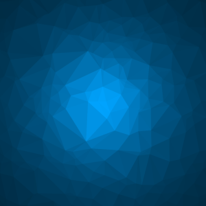 Abstraktes himmelblaues Dreiecksmuster