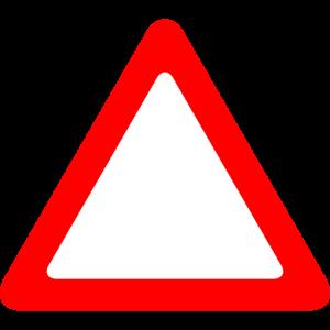 Verkehrsschild Warnung