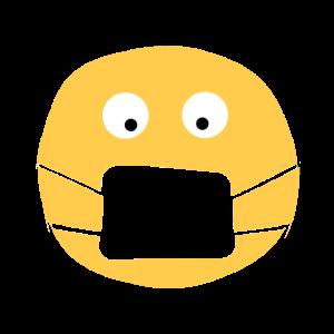 Maske immer dabei, Mund- und Nasenschutz