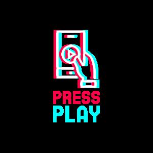 Press Play Video Geschenk