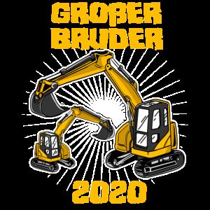 Großer Bruder 2020 Bagger Geschwister Junge