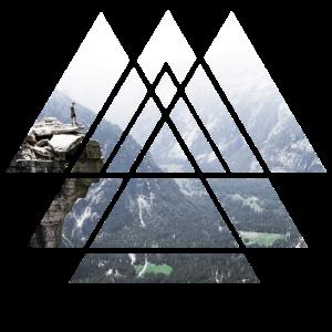 Berg erkunden
