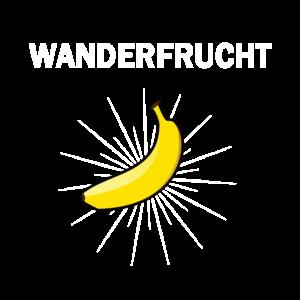 Wanderer Wander Geschenk Wanderfrucht Wandern