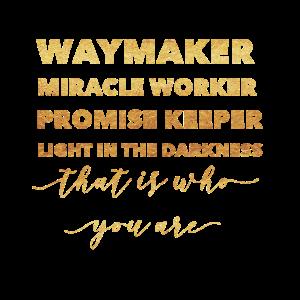 Waymaker & Christliche Kleidung
