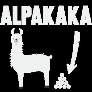 Alpaka Lama Alpakaka Lustig Geschenk