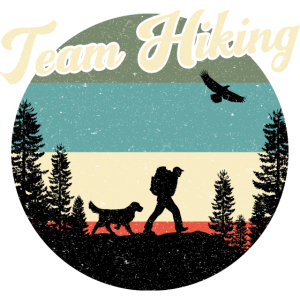 Wanderer Wandern Hiking Hund Dog Team Berge Alpen
