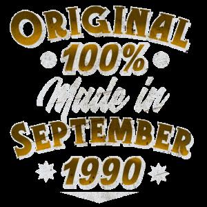 September 1990 Geburtstag